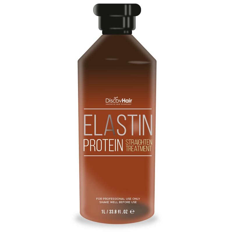 Elastin Protein Straightening Treatment