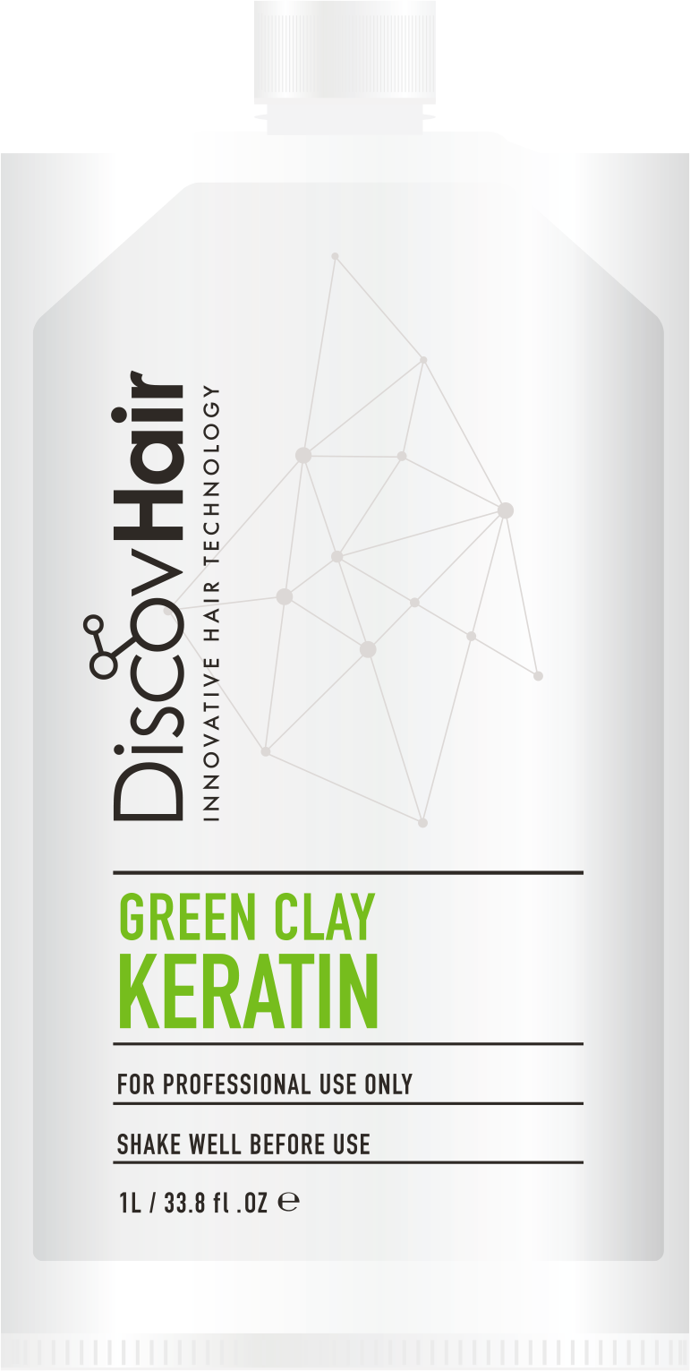DiscovHair Green Clay Keratin